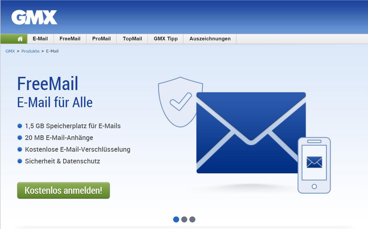 Mein gmx e mail postfach login
