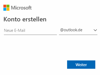 Outlook.com registrieren